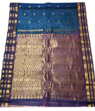 Silk Gadwal Handloom Saree