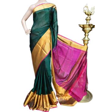 Pure Silk Uppada Handloom Saree