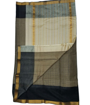 Cotton Silk Mangalagiri Handloom Saree