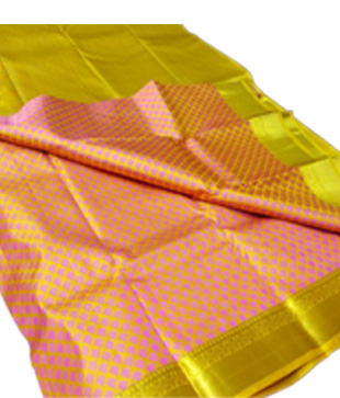 Pure Silk Kanchipuram Handloom Saree
