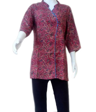 Rayon Kalamkari Regular Top