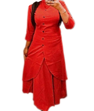 Slub Cotton Fancy Designer Slit Kurta