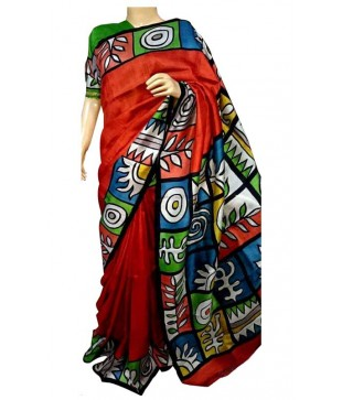 Silk Printed Saree