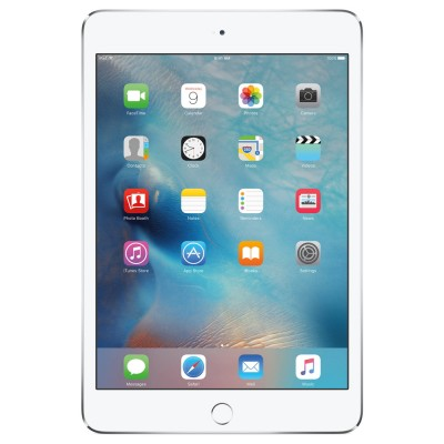 Apple iPad mini 4 Silver 128 GB, WiFi + 4G (No Voice Call) Tablet