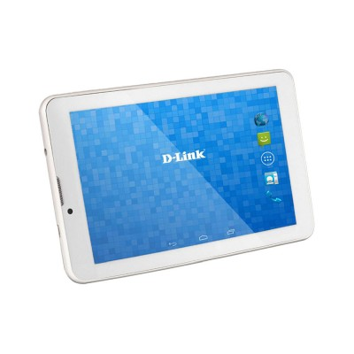 D Link D 100 White 16 GB, WiFi + 3G + Voice Call Tablet