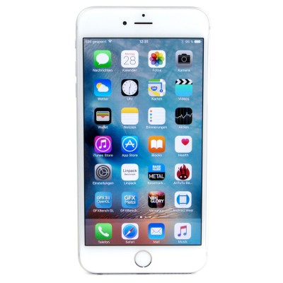 Apple iPhone 6s MKQM2HN/A Silver   16 GB Smart Phone