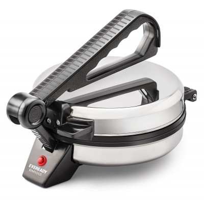 Eveready RM1001  Silver & Black  Electrical Roti Maker