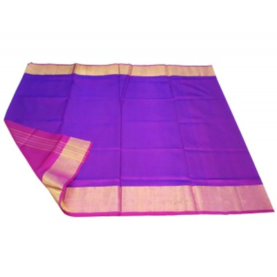Veerfashions Purple Pure Silk Uppada Handloom Saree