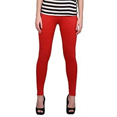 Meera Red Leggings