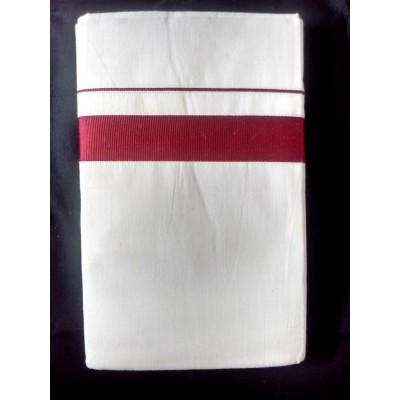 Kanyakumari Handloom Maroon Cotton Handloom Dhoti