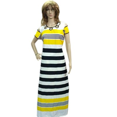 Bee Multi Colour Cotton Straight Kurta