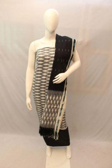 Un-Stitched Handloom Dress Material