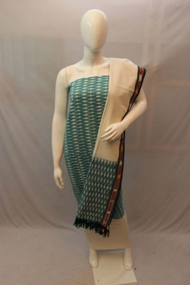 Un-Stitched Handloom Dress Material