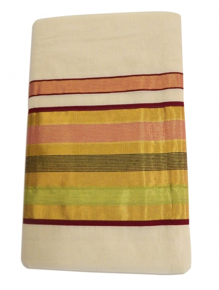 Balarampuram kasavu Handloom Saree