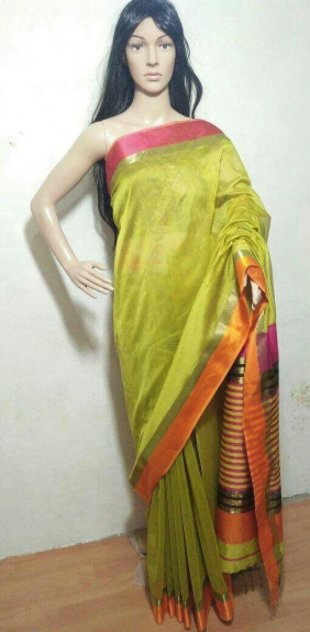 Maheshwari Handloom Saree