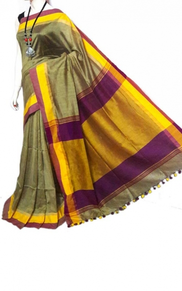 Bengal Tant Handloom Saree