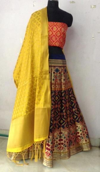 Semi-Stitched Lehenga Choli