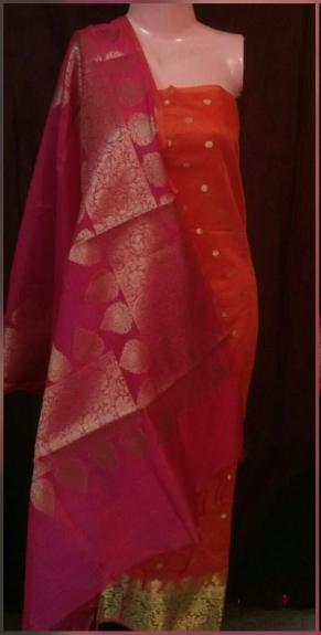 Un-Stitched Dress Material