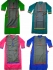 Straight Combo Kurtas -- Pack of 4